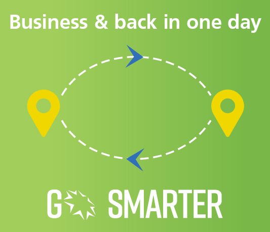 Go smarter business and back