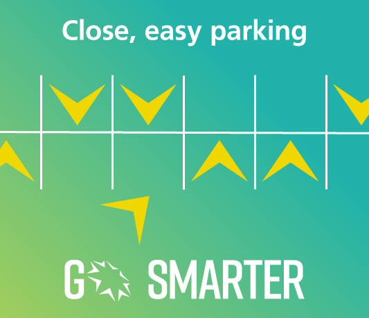 Go Smarter close easy parking