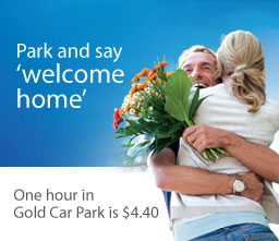 Gold Car Park - welcome home