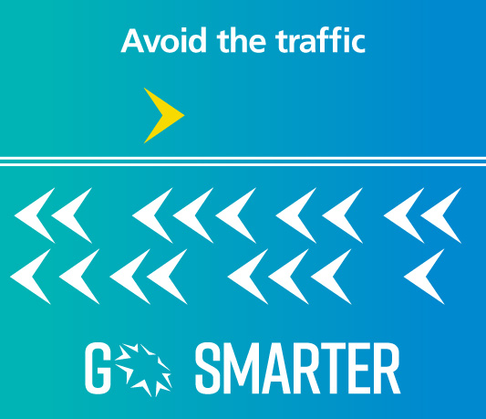 Go Smarter avoid traffic