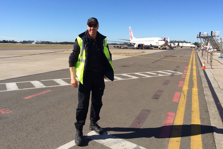 how to work in airport operations
